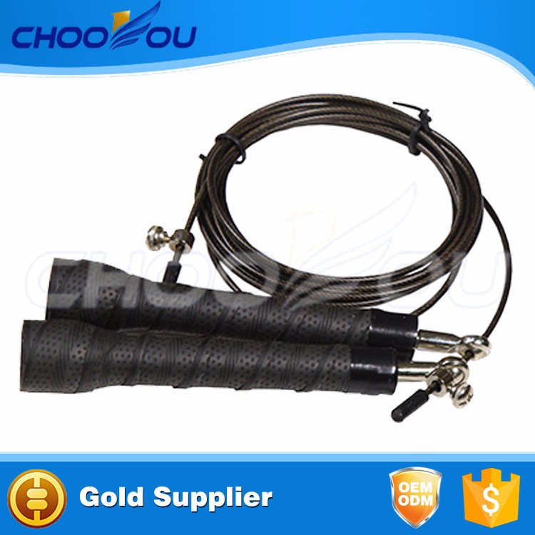 Black jump rope apply to All Experience Levels, Cardio, Home Workouts jump rope