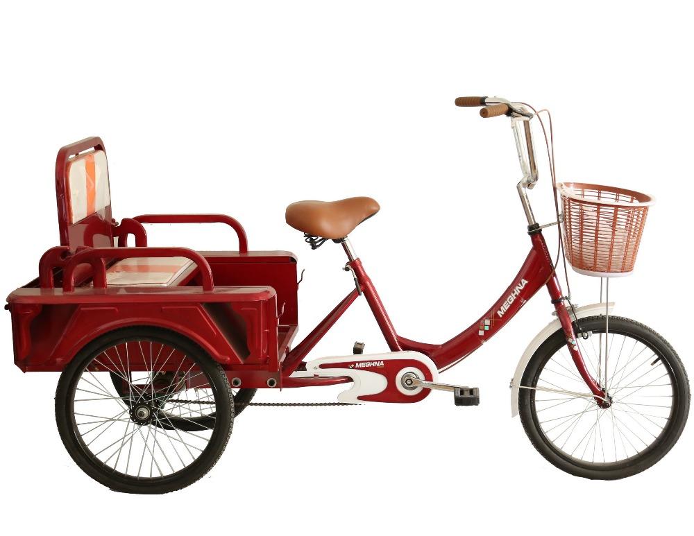 Used three wheel adult bicycle — photo 8