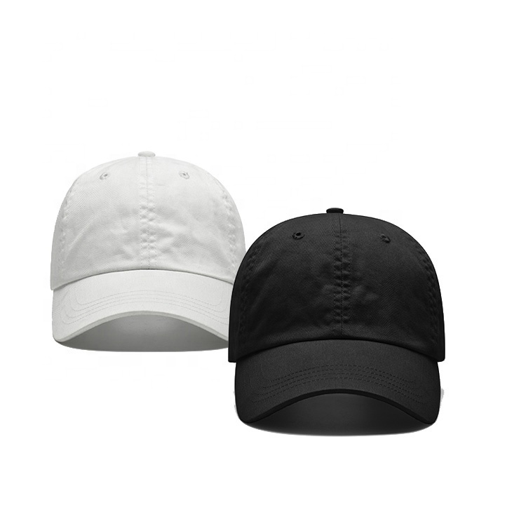 c717dae77fc34 Wholesale Unisex Blank Dad Hat Plain Black White Baseball Cap And Hat Men -  Buy Baseball Cap Hats
