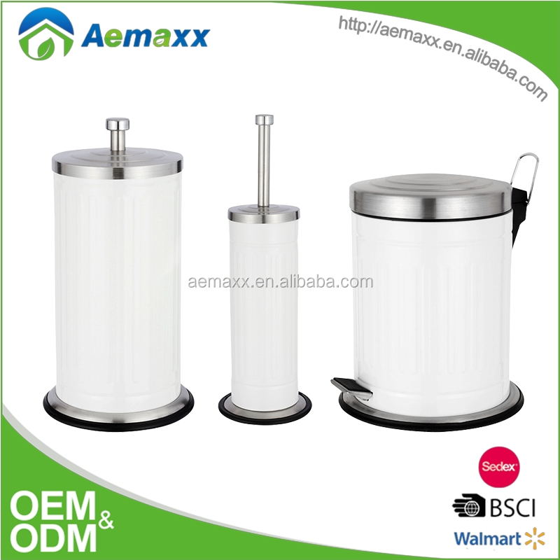 Retail Online Shopping Home Kitchen Stainless Steel Trash Can, Round Pedal Custom Pedal Bin Cheap Garbage