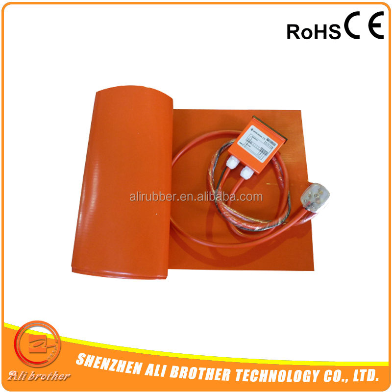 High Safety 800w/220v Silicone Rubber Oil/Water Drum Heater