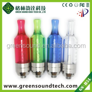 GreenSound duail coil atomizers GS H5T Long life Easy to refill atomizer for E cigarettes