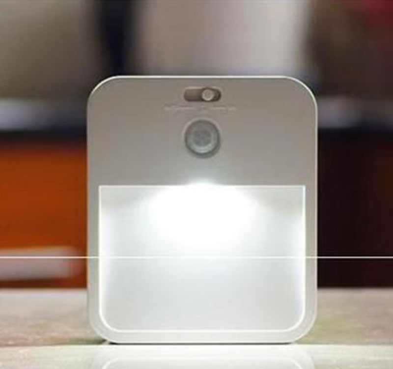small battery powered motion sensor led night light