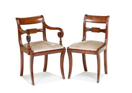 Regency Dining Chairs Brown And White Brown And White Buy Home Furniture Dark Cold Brown Product On Alibaba Com