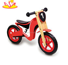 2018 Amazon top seller new design toddler balance bike wooden ride on bike for kids W16C202