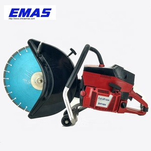 EMAS biggest power and Gasoline Concrete cutting machines Cut off Saw EHT484