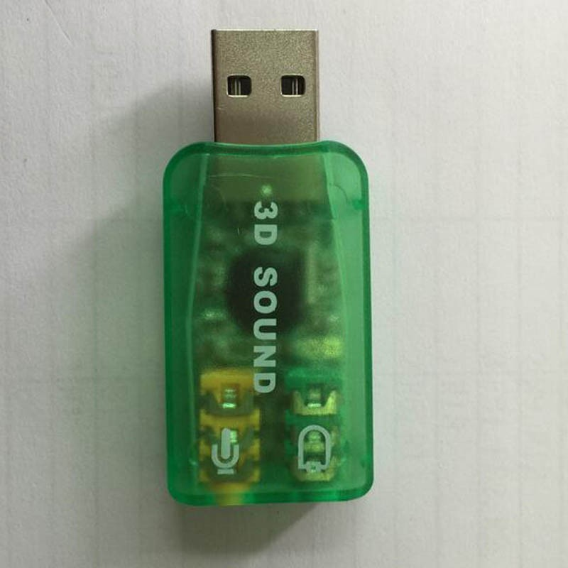 Usb 2.0 Pc Use Virtual 7.1 Channel 3d Sound Card Usb Driver