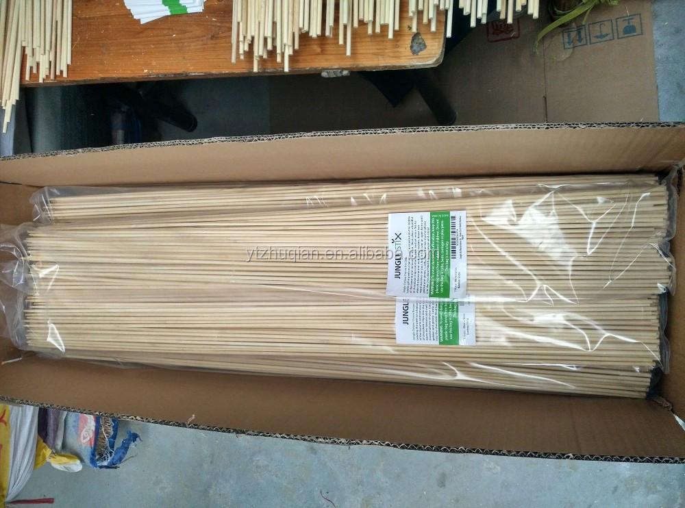 jardn de bamb pincho mm mm palos de bamb para barbacoa para