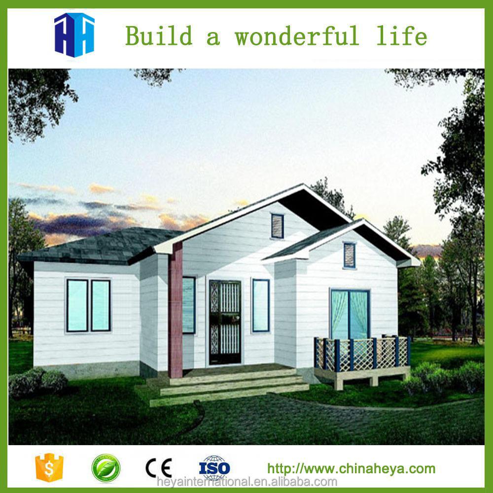 Moderne geprefabriceerde huizen en villa prefab houten huis prefab huizen product id 60593554995 for Afbeelding van moderne huizen