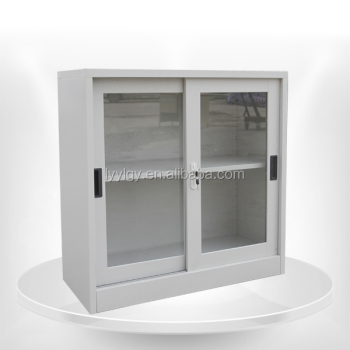 Half Height Sliding Door Wardrobe Storage Closet Cabinet