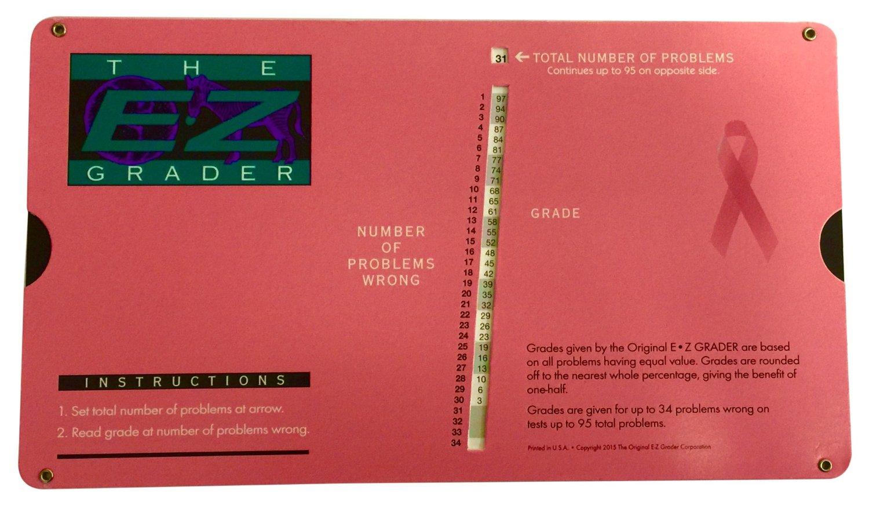 Buy Grading Calculator - E-Z Grader Teachers Aid Scoring
