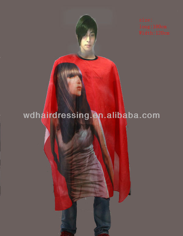 Hairdressing Products Fashion Cape For Barber Wangda Salon tool