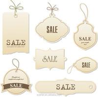 Custom hang tag, custom logo name uv printing garment black cardboard hang tags, hangtag for clothing