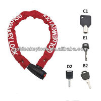 Safe Chain Lock for Bicycle/ Motorcycle/ E-Bike/ Folding Bike/ Scooter