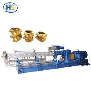 Kneading Screw Extruder Exporter / Caco3/Talc/Tio2 Filled PE Pellet Making Machine