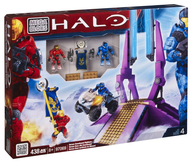 Buy Halo Mega Bloks Exclusive Set #97069 Versus Snowbound