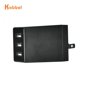 3 port Smart USB charger 5v 6a for USB device and all smart cellphone