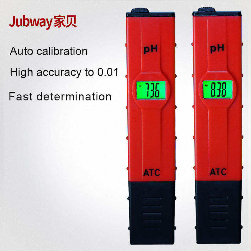 Factory OEM high accuracy to 0.01pH pocket size digital ph meter water quality tester for drinking water and hydroponics