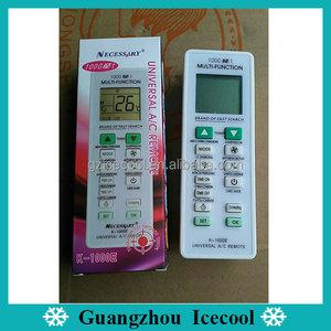 1000 in 1 universal midea/dakin/kelon/mitsubishi/sanyo air conditioner  remote control K-1000E