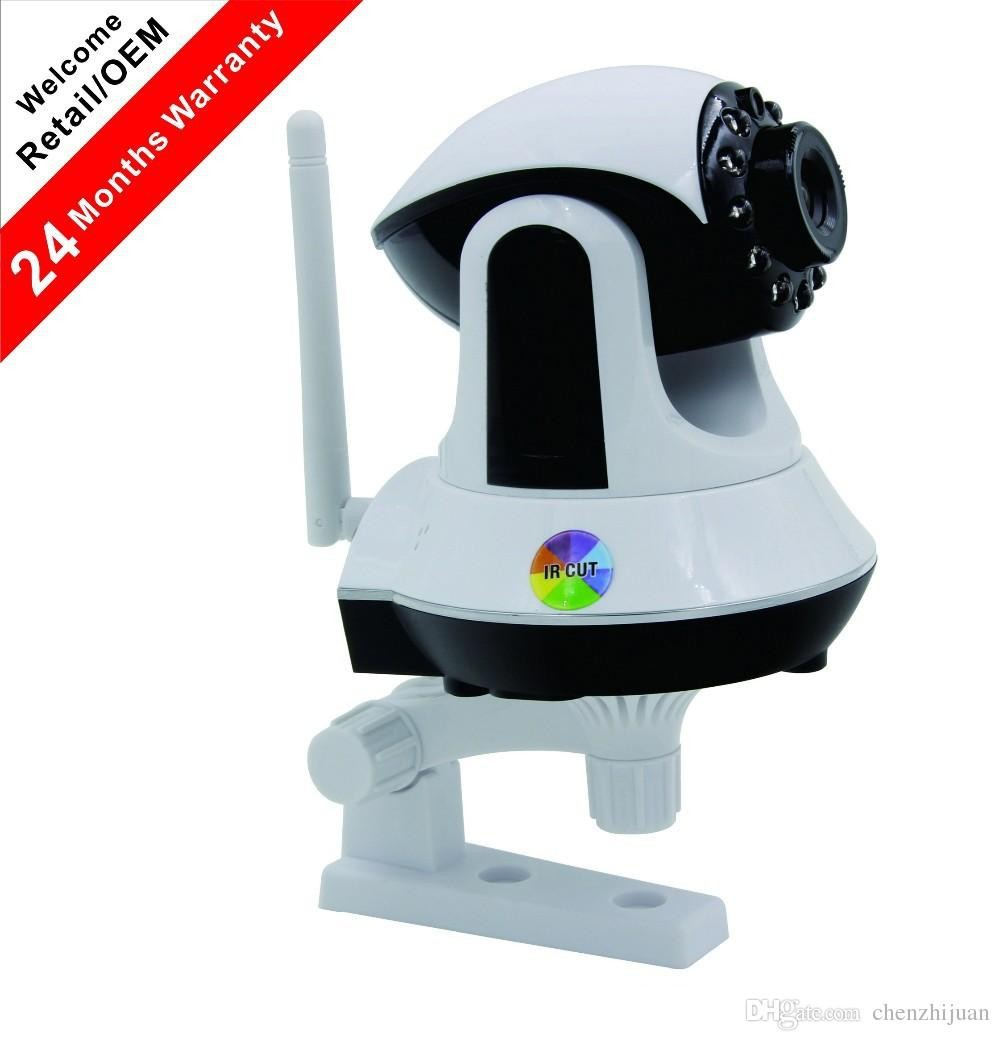 1/4' CMOS IP Camera Wireless Wifi 1.0 MP IR Night Vision P2P Camera 3.6mm Lens Support IOS & Android Indoor Security Camera