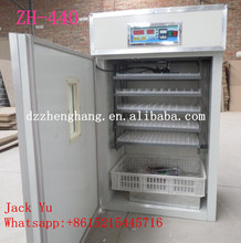 Quail hatcher/400 chicken egg incubator/high quality incubator ZH-440