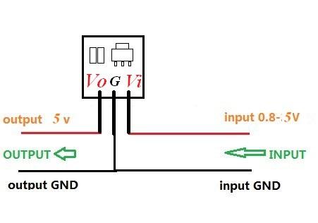 Mini Dc Dc Converter 0 9 5v To 5v Dc Dc Step Up Voltage