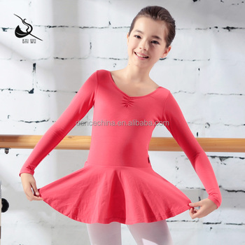 11424212 Langarm Ballett Dancewear Mädchen Ballett Kleid - Buy ...