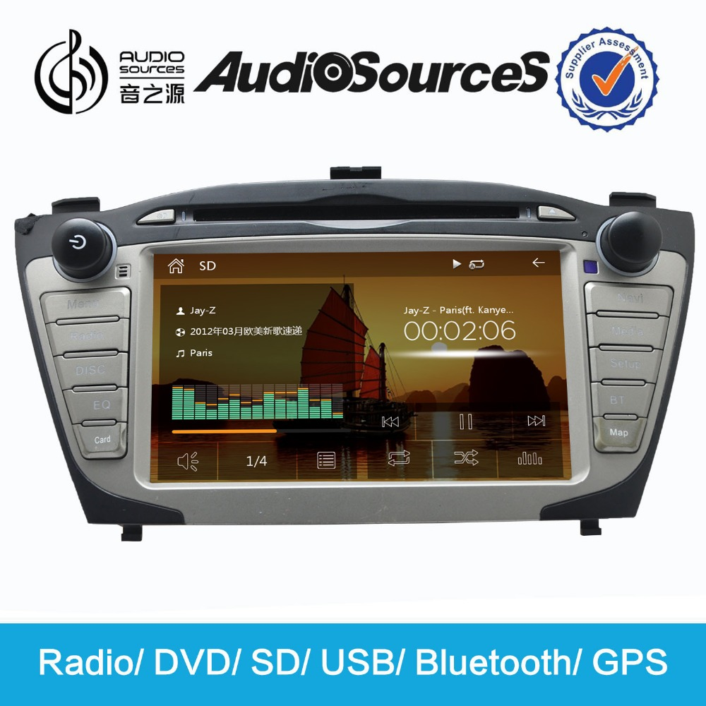 Car DVD GPS hyundai santa fe accessories gps navigation player accessories hyundai sonata