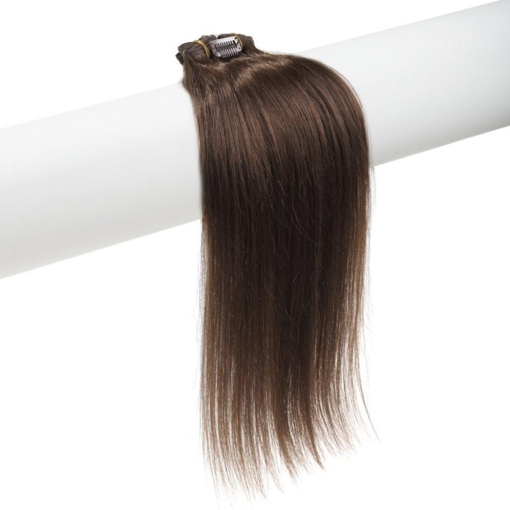 Buy Silky Straight Clip On Hair Extensions 70g 18 30inch 4 Dark