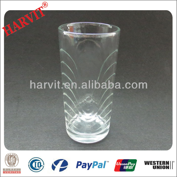 Hot Sale Moroccan Tea Glass Drinking Cups Mugs/ Bohemia Crystal Glassware / Embossed Glass Tumbler