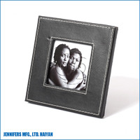 Competitive price BLACK PU picture photo frame