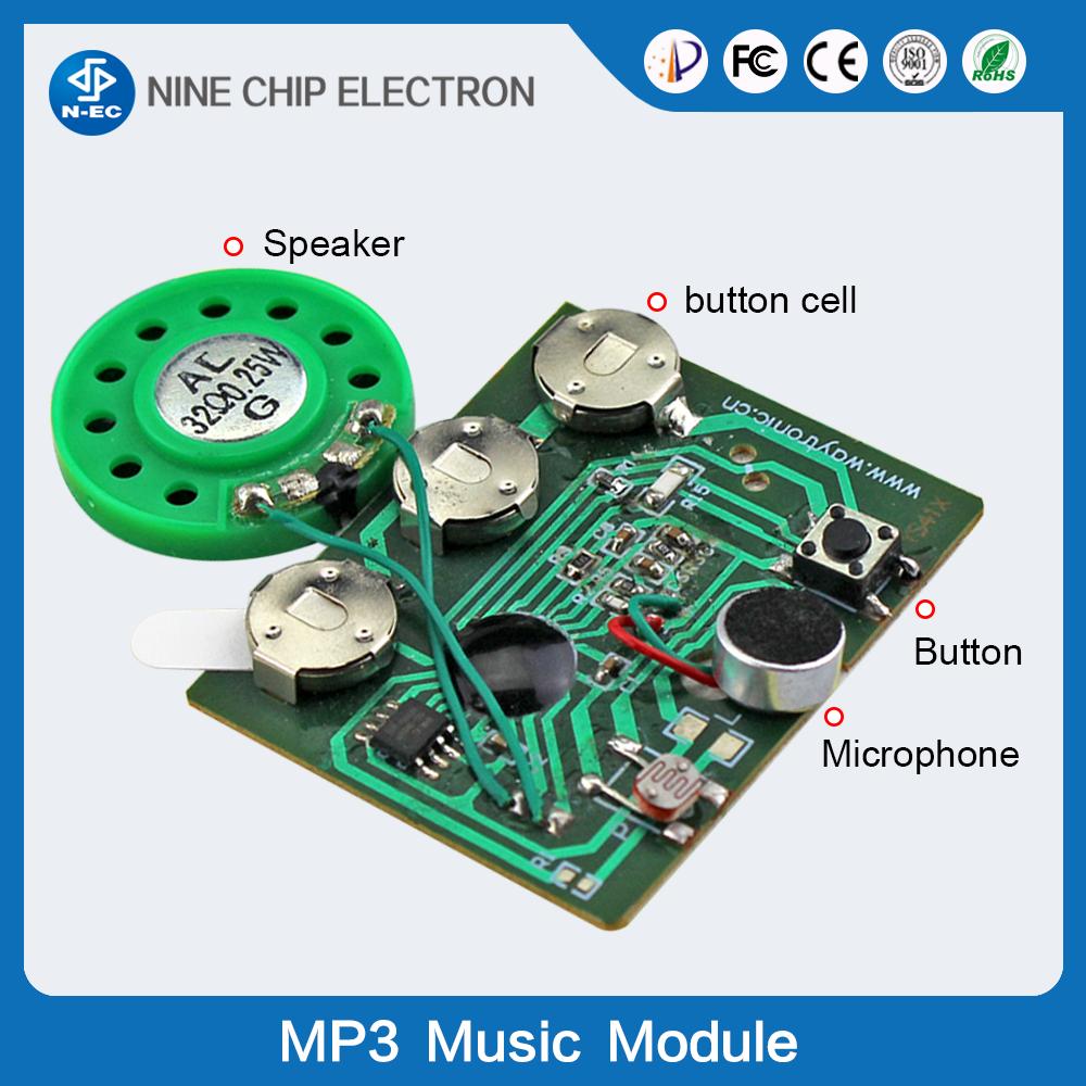 Music Greeting Card Sound Module Motion Sensor Recorder Voice Chip