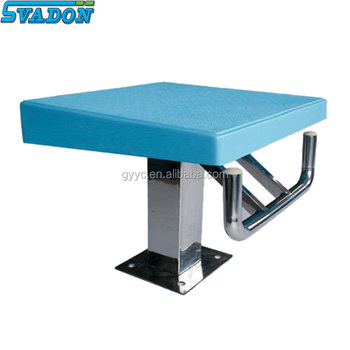 Swimming Pool Equpiment Diving Boatd One Step Starting Blocks Used Buy Starting Blocks Used