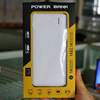 Ultra thin power bank 8000mah,mirror power bank with leather cover, external portable power bank