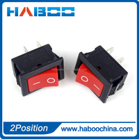 household appliance on/ off SPST KCD1 electrical 2pins2 positions rocker switch labels mini push button boat switch