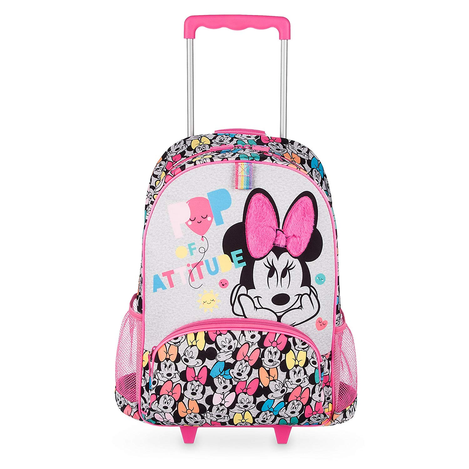 dddc2ea8d3f Get Quotations · Minnie Mouse Rolling Backpack