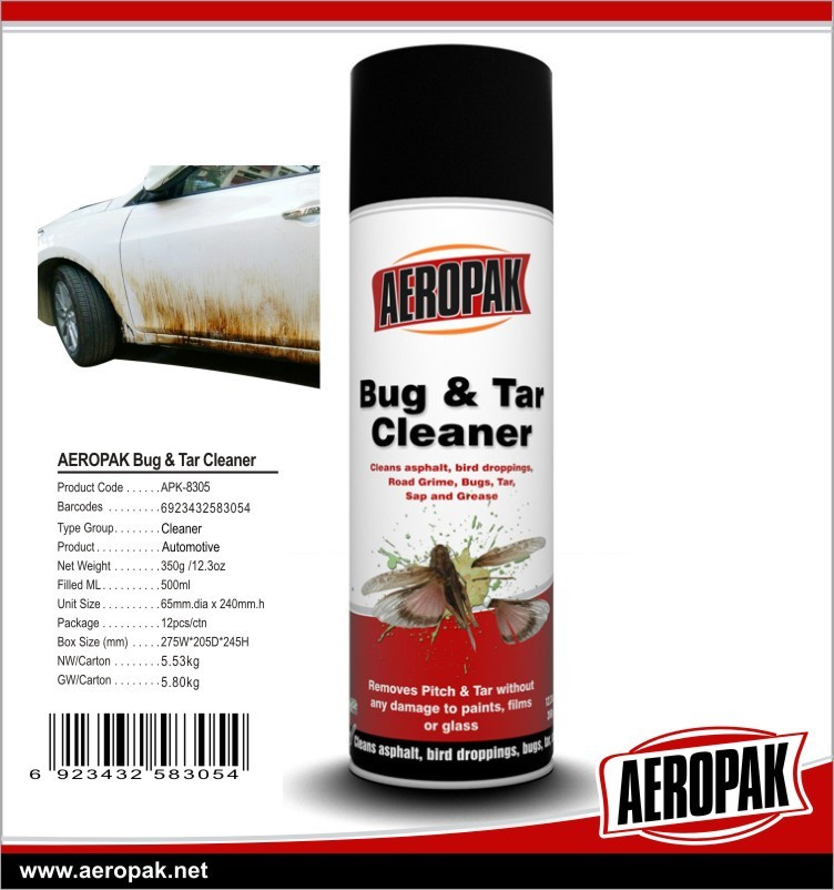[AEROPAK merk] china nieuwe 450 ml/650 ml carburateur cleaner spray