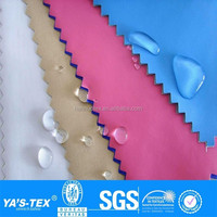 durable water resistant fabric,DWR fabric,waterproof polyester spandex fabric