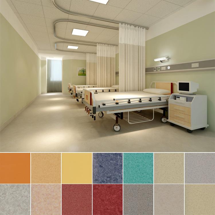 Factory price wooden grain pvc vinyl laminate flooring in for Laminate roll flooring