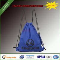 Custom printed trade show canvas tote bag/drawstring backpacks for kids