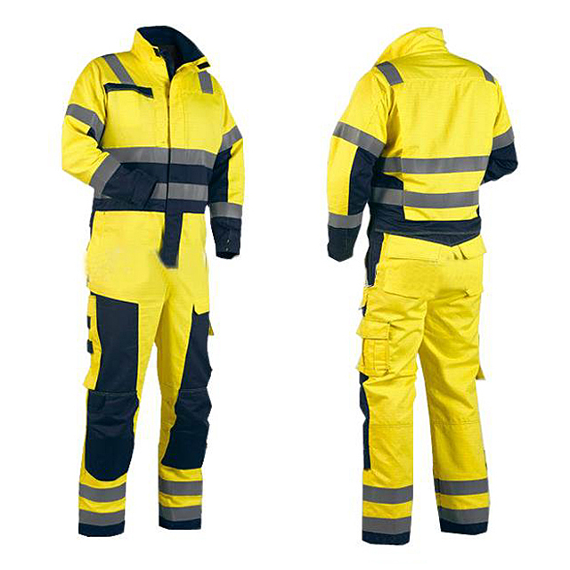 HEAVY DUTY 240GSM ZIP FRONT Poly/Cotton COVERALLS Boiler