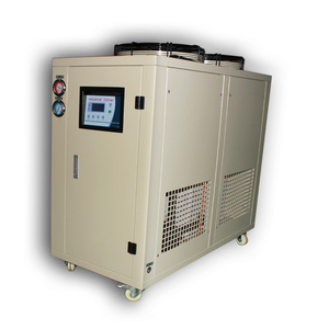 Cooling Screw 10hp Air Cooled Water Chiller Industrial York Indonesia Gs 10hp R407c