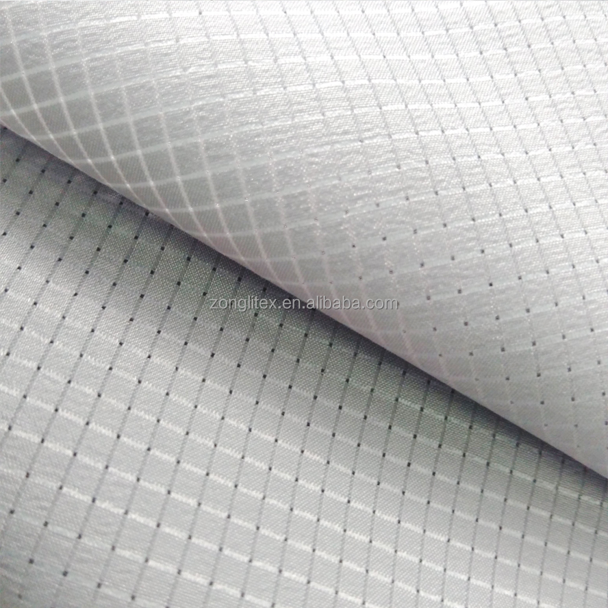Outdoor durable 4 way stretch spandex mesh fabric