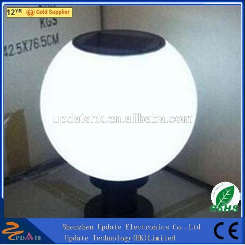 Outdoor Solar Garden Globe Light Led Pillar Ball Lamp Weatherproof And Heat  Resistant Street Light   Buy Hanging Basket With Solar Light,Big Light Ball  ...