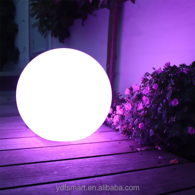 Decorative LED Light Ball LED Glowing Orb waterproof Swimming Pool ball light and garden light ball