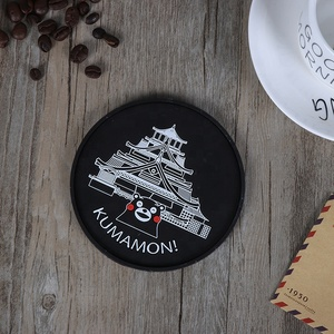 Environmental Protection Material reusable heat resistant silicone coaster