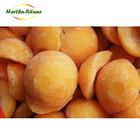 Frozen cultivate IQF yellow peach sliced diced halves fruit for export pass BRC safe product