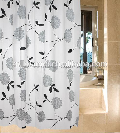 Étanche fenêtre de salle de bains rideau de douche-Rideaux ...