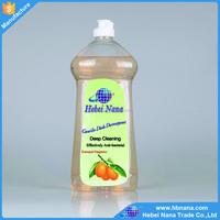 Dishwashing liquid with high active ingredients