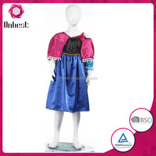 Commercio all'ingrosso <span class=keywords><strong>Anna</strong></span> Cosplay <span class=keywords><strong>dress</strong></span> for kids Halloween donne congelato principessa elsa costume